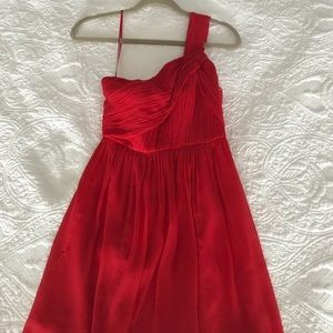 VGUC Jcrew size 00P silk chiffon dress